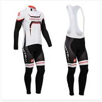 Hot sale/New Arrival/2014 CA Long Sleeve Bike/ Cycling Jerseys+bib pants(or pants)/Cycling Suit/Cycling Wear/-WL14CA001