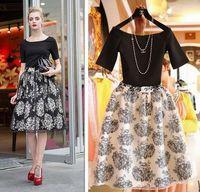 European Apprael Two-piece Floral Chiffon Dresses Women Summer Dress 2014 New Fashion Casual Dress Vestidos