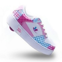 6 colors High quality New 2014 one wheel boy and girls roller skate children Sneakers kids sport casual flying shoe Size 30-39