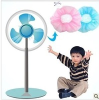 2014 Fan Guard Cover Security Protection Baby Fingers Safety Home Children Pink Blue 1 Piece New 2014 Hot Sale New