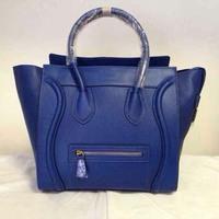 Smile bag New Design Hot Sale Genuine Leather Women Handbag 2014 High Quality Women Messenger Bags