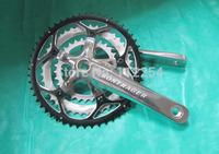 Free shipping road bicycle 8/9 speeds crankset 170/30/42/52T,bike crankset,chainwheel/alloy CNC