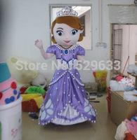 Hot sale new design adult mascot costume princess sofia adult sofia the first mascot costume