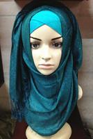 (free shipping)new shawl ,muslim shawl ,muslim hijab 180*80cm can choose colors