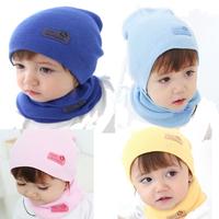 50set/lot Fashion Winter Cap Baby Girls/Boys Hat Warm Hat Children Hat and Scarf set Free shipping