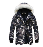 2014 Autumn And Winter Latest Version  Of Korean Men Cool Camouflage Cotton Jacket/Winter Jacket Men M-XXL Free Shipping