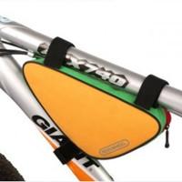 fashion bicycle triangle frame bag protective and safety cycling bag triangle saddle bag