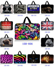 """Fashion Colorful Pattern 15.6"""" 15"""" Laptop Sleeve Case Bag Pouch Cover +Handle For HP ASUS ACER(China (Mainland))"""