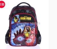 Free shipping new 1pcs/lot  fashion Iron Man alleviate burdens Randoseru backpack best  gift to your kids
