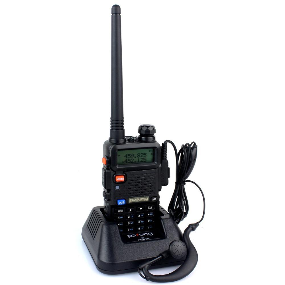 New baofeng UV 5R Radio Walkie Talkie Pofung UV-5R 5W FM Radio 128CH VHF + UHF VOX Dual Band Two Way Radio A7108A Free Headset(China (Mainland))