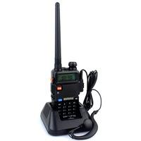 New baofeng UV 5R Radio Walkie Talkie Pofung UV-5R  5W FM Radio 128CH VHF + UHF VOX Dual Band Two Way Radio A7108A Free Headset