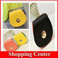 NEW 2014 candy color package small fresh Mini bag shoulder cross chain bag hot sale girls street bags dropshipping