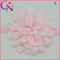Baby Girls Headbands New 2014 Toddlers Kids Hairband Chiffon Headband Children Accessories CNHB-1407161