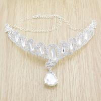 free shipping Elegant new Korean rhinestone tiara crown jewel bridal wedding dress accessories sky-j126