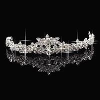 free shipping Crown Tiara Elegant Rhinestone crown Crystal bridal hair Jewelry Wedding Bride Party  sky-j092