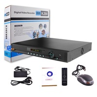 4CH CCTV DVR Recorder Full D1Real time recording support Multipal Languages Mobile Phone View,Networking free shipping EDS-8024T