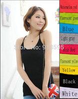 summer dress 2014 fashion tank top brand women tops casual women summer dress tank top free shipping promotion