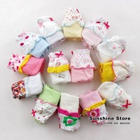 Sunshine Store #7A5372 20 pcs/lot Baby Girls Pants Kids Cute Cotton Diaper Cover Crib Training Pants with Bordering for 0-7 Year