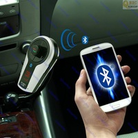 Bluetooth Hands-free Car Kit MP3 Player FM Transmitter Charger for iPhone 5 4/4S