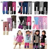 2014 Winter Warm girl legging cartoon baby leggings baby pants baby tights 3pcs/lot wholesale
