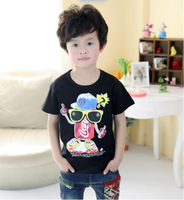 Free Shipping 5pcs/lot 2014 summer New cokecola boys clothing girls clothing baby short-sleeve T-shirt t- camisa