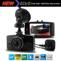 NEW Arrival Dual Camera Car DVR G5WB With Full HD 1080P G-sensor+IR Night Vision+Rear Camera 720P Car Video Recorder