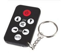 8M 27ft distance Portable TV Mini Keychain Universal Remote Control for Philips for Sony for Panasonic for Toshiba for TCL