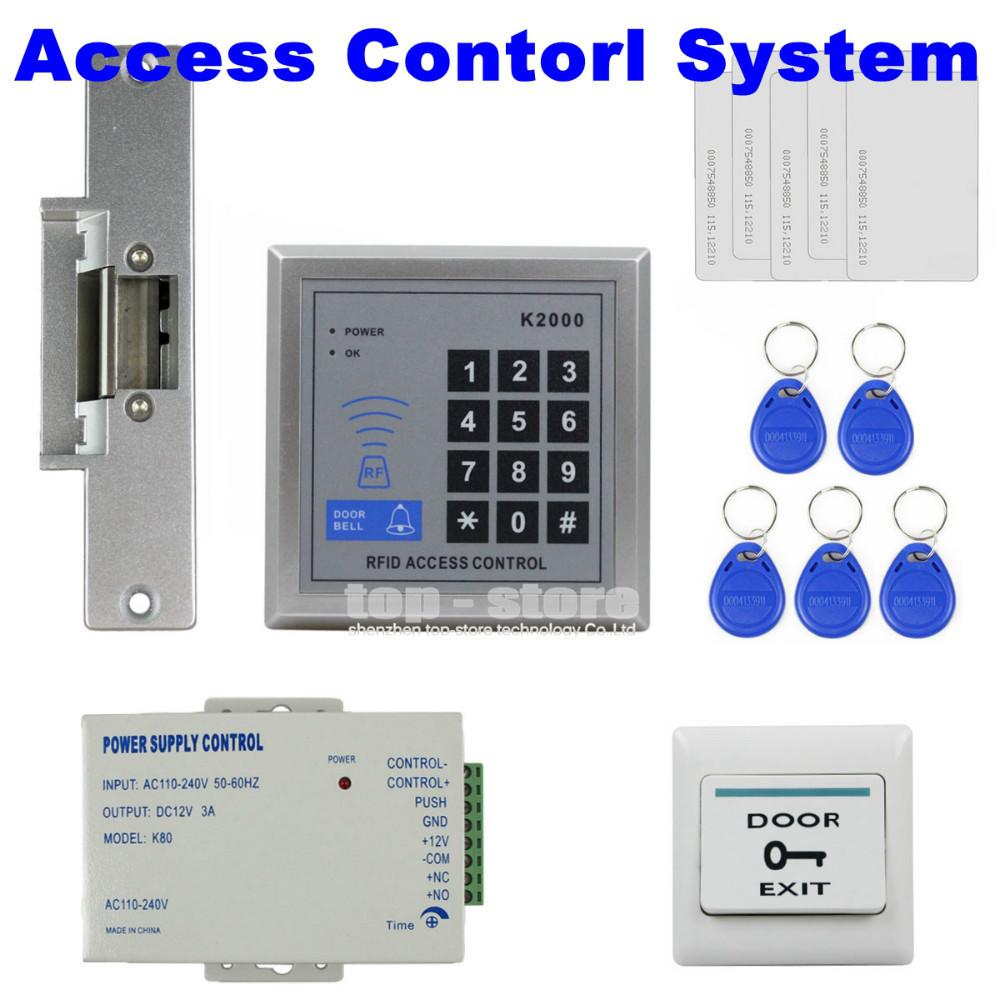 Система контроля доступа N/A RFID 125 Kit + + K2000 система контроля доступа n a diy rfid k2000