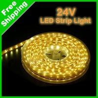 Amber/Yellow 12V 500cm 3528/1210 SMD LED Strip Light Lamp 300 Leds #890