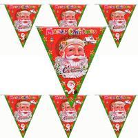 Christmas decoration 230 23cm trigonometric banner christmas pennant