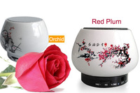 Art works ceramics bluetooth speaker portable mini speakers with calling funtions supports tf card free shipping&drop shipping