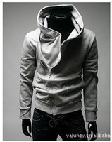 The spring and autumn period and the han edition men's sports fashion foreign trade hooded fleece jacket