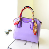 2014 Spring&Summer Collection Female Bag Multipurpose with Silk Scarf Fashion Hand Bag Bolsas Femininas Casual Freeshipping