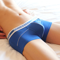 gay underwear 2014 Male panties low-waist sexy regenerated cellulose fiber leisure casual breathable BOXER men thong