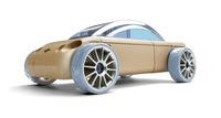 Automoblox s9 sedan blue Wood Toy New Box mt18