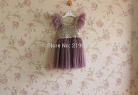 NEW - wholesale ! girls summer sequins  gauze tutu dress , kids party dresses ,  5pcs/lot