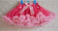 Children Pettiskirts Girls Ball Gown Colorful Skirt Girls Princess Skirts Kids Tutu Bowkont Skirt cd23-02