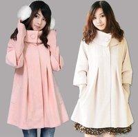 Plus Size Long Winter Coats For Women Wool Coat Warm Long Jacket Winter Overcoat outerwear Korean Style Spring