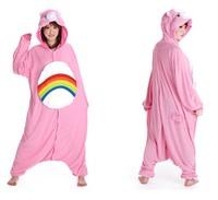 New Cheer Care Bear Anime Fashion Pajamas Pyjama Cute Cartoon Cosplay Christmas Animal Costumes Adult Onesies Pajamas