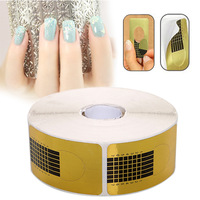 Wholesale 500pcs New Acrylic UV Gel Manicure Tips Nail Art Tools Design Extension Forms Guide Tool
