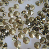 SS10 1440pcs Point Back Rhinestone  Jonguil Color Point Back Chaton
