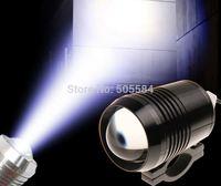 2pcs/lot CREE 30W Led Moto light 1200lm Motorcycle flash light spotlights 12v/24v Car Motor Offroad fog lamp headlights Strobe