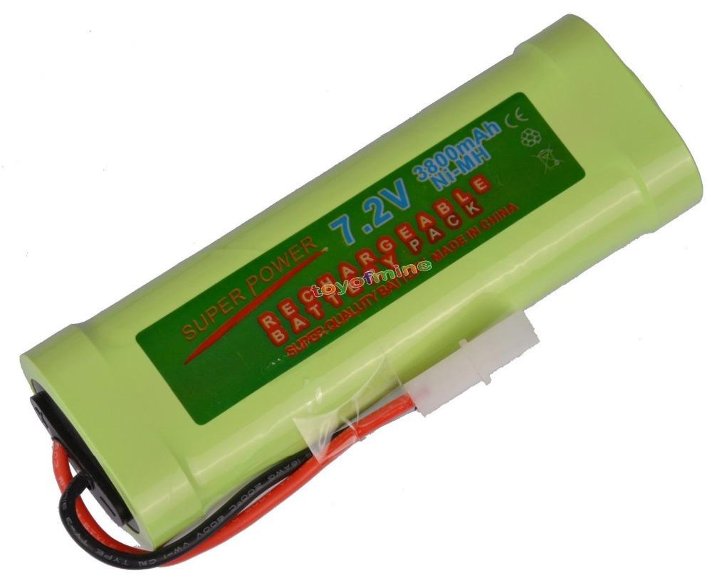 1 Tamiya plug 7.2V 3800mAh NiMH Rechargeable Battery RC(China (Mainland))