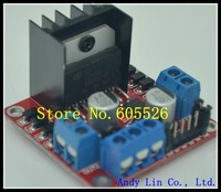 5pcs/lot L298N motor driver board module for arduino stepper motor smart car robot