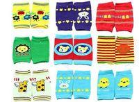 3Pairs Baby Safety Knee Pad Kids Socks Children Short Kneepad Crawling Protector
