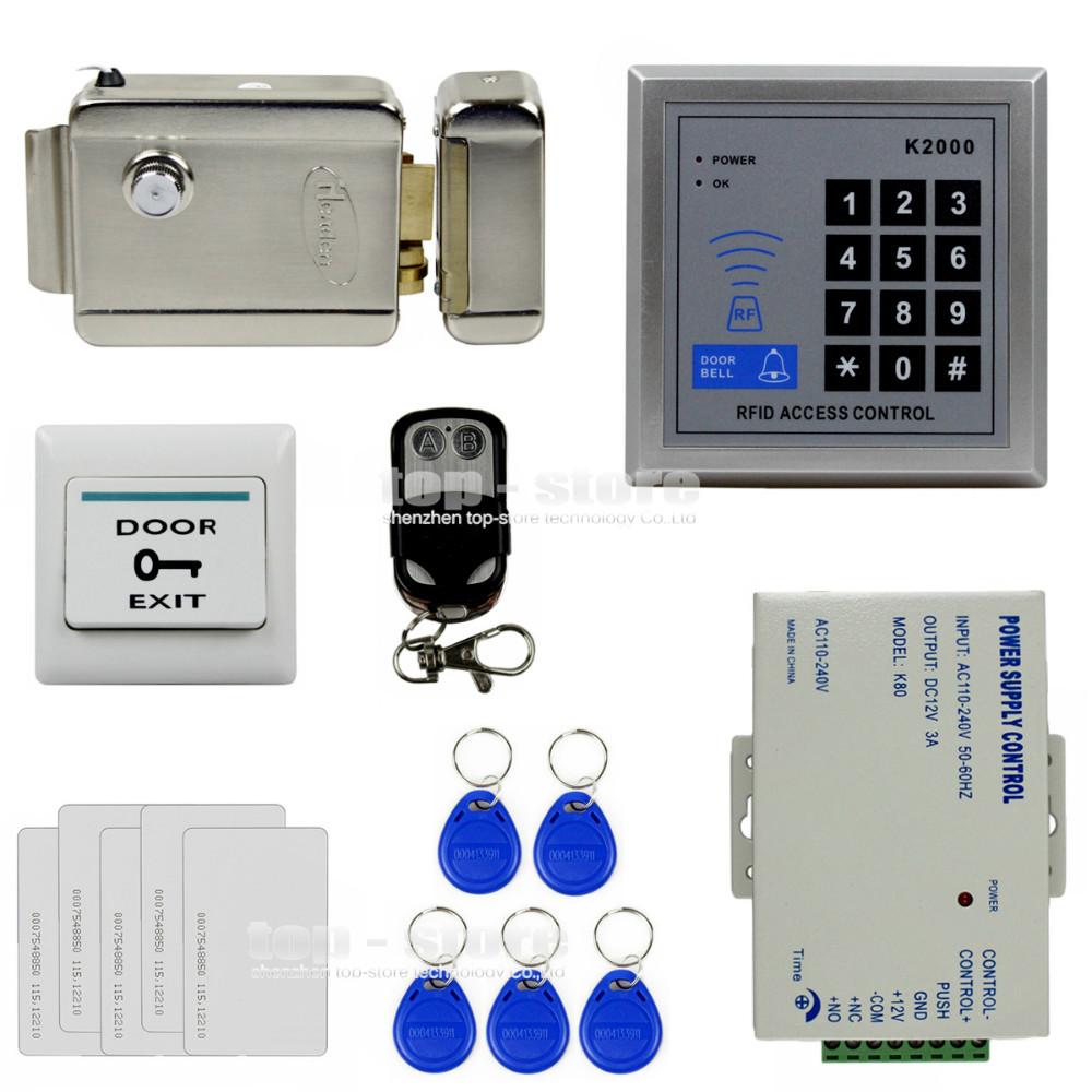 remote control access controller 125khz rfid keypad access control system kit. Black Bedroom Furniture Sets. Home Design Ideas