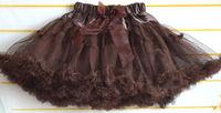 beautiful ball gown girls skirt girls princess kids tutu bowkont skirts lovely children pettiskirts cd23-15