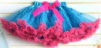 beautiful ball gown girls skirt lovely girls princess kids tutu bowkont skirts colorful children pettiskirts cd23-17