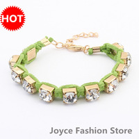 Min Order $10,HOT!Casual Fashion Chain Charm Rhinestone Bracelets restore ancient Beatles bracelet Jewelry,Arm Bracelets,B07
