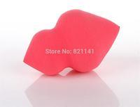 2014 hot sale free shipping 5pcs/lot Gyro shape NON-latex Hydrophilic Sponge Cosmetic Powder Puff makeup puff 42x70mm